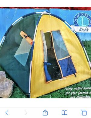 Collector's Lane Doll Tent for Sale in Mission Viejo, CA