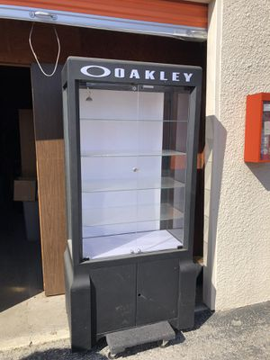 Oakley display case for Sale in San Carlos, CA