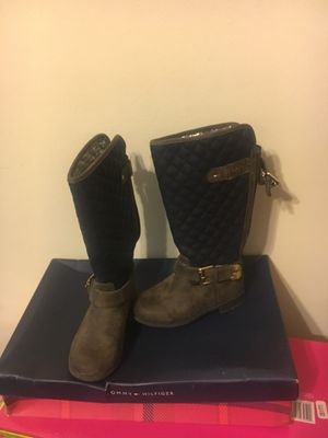 Tommy Hilfiger Toddler Boots Sz: 9 for Sale in Capitol Heights, MD