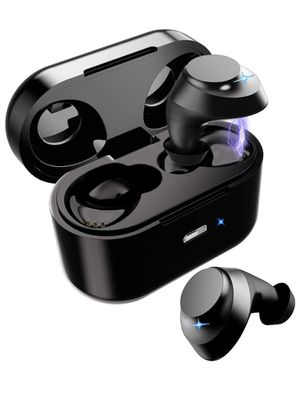 Wireless Earbuds, Bluetooth Earbuds Bluetooth 5.0 True Wireless Sport Mini Headphones Touch Control 28H Playtime Hi-Fi Stero Bass Sound Noise Cancell for Sale in Irvine, CA