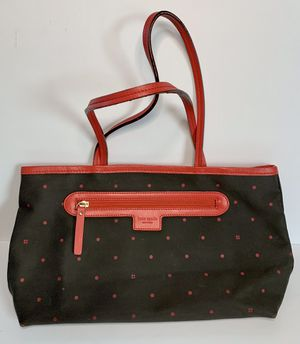 Kate Spade Black with Red Polka Dot Purse for Sale in Hayward, CA