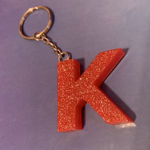 "Custom Resin Keychain ""K"" for Sale in Buckingham, VA"
