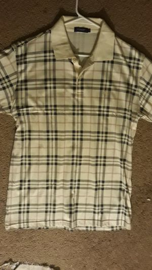 Authentic Mens Burberry polo for Sale in Riverside, CA