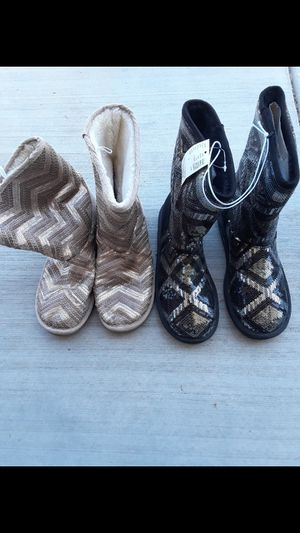 Justice for girls new boots for big girls or adult women for Sale in Corona, CA