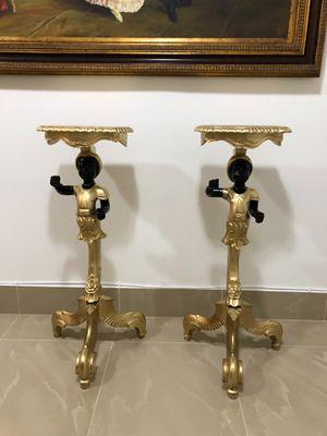 Pedestales ( Blackamoor) for Sale in Cutler Bay, FL