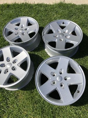 Jeep Wrangler wheels 17 inch for Sale in Los Angeles, CA