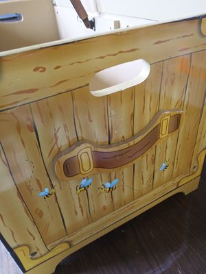 Disney World wooden toy chest for Sale in Norfolk, VA