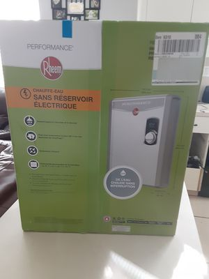 RHEEM electric tankless water heater for Sale in Miami, FL