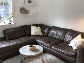 Leather Sectional for Sale in Kirkland,  WA