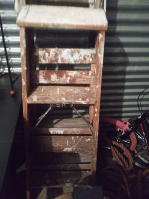 2 WOODEN PAINT LADDERS. for Sale in Reynoldsburg, OH