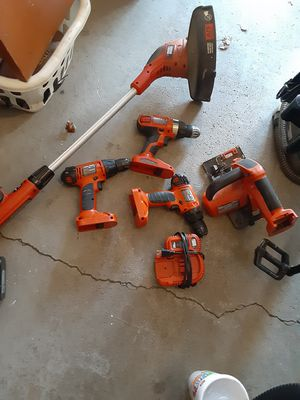Black and Decker tool set....battery operated. for Sale in Columbus, OH