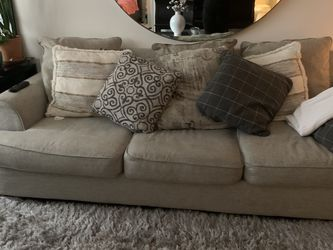 Ashley Transitional Style Grey Sleep Sofa 94 Inches Long 40 Inches Deep for Sale in Dallas,  TX
