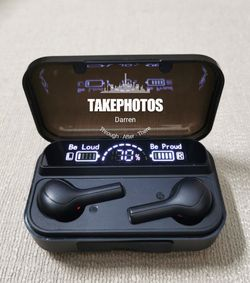 (B19)Bluetooth Earphone True Wireless Earbuds headset Mini Earphones Waterproof Headphone for Sale in Rowland Heights,  CA
