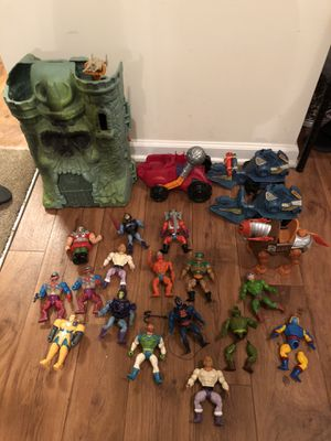 MOTU Vintage Masters of the Universe He-Man 80's Toys Huge Lot for Sale in North Charleston, SC