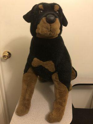 Rottweiler stuffed animal for Sale in Phoenix, AZ