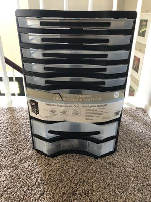 Scrapbook Cart for Sale in Hampshire, IL