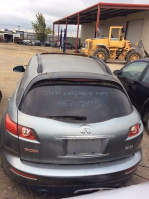 For parts 2007 Infiniti FX37 V6 for Sale in Dallas, TX