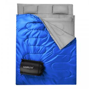 2 Person Waterproof Sleeping Bag with 2 Pillows OP3650LS for Sale in North Tustin, CA