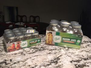 Mason Jars with Canning Lids - Brand New for Sale in Broadview Heights, OH
