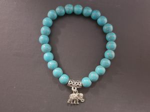 ** NATURAL STONE - Turquoise Elephant Bracelet (protection,master healer, remove negative energy, calm emotions) for Sale in Rancho Cucamonga, CA