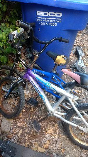 16 in kids bicycle BMX bikes for Sale in La Mesa, CA