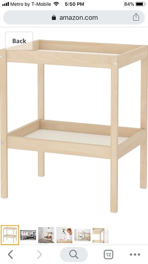 diaper table for Sale in Plano, TX