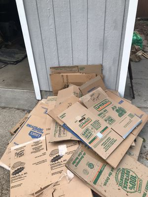 Free moving boxes for Sale in Portland, OR