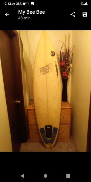 """6'9"""" surfboard signed and shaped my the man. You can't buy these anymore. It's water right. Sweet ride for Sale in Vancouver, WA"""