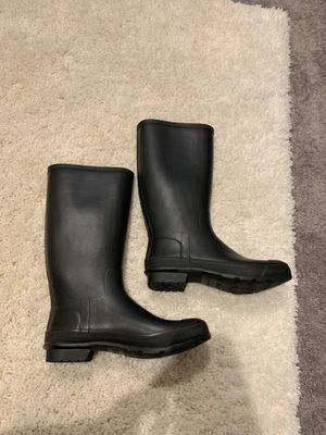 Burberry rain-boots lightly used for Sale in Palm Springs, FL