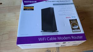 Netgear AC1750 WiFi Cable Modem Router for Sale in Fredericksburg, VA