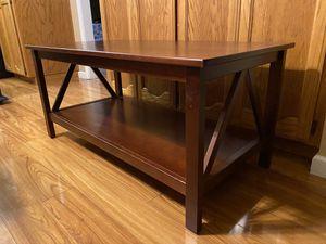 "Linon Titian Modern Solid Wood Rectangular Coffee Table 20"" x 44"" x 22 for Sale in Turlock, CA"