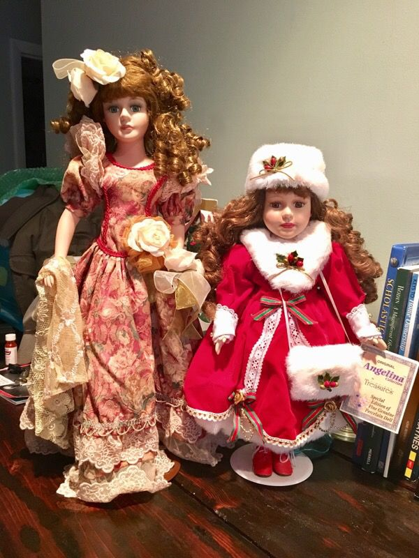 Original Angelina Collection Special edition Porcelain dolls