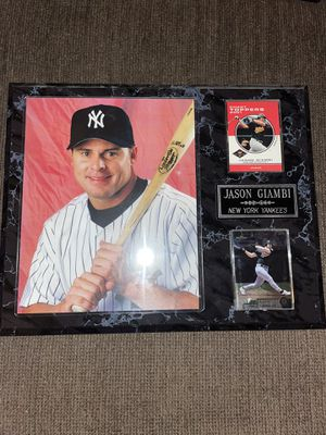 9 Baseball plaques for Sale in Toms River, NJ
