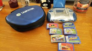 Leapster leap frog gaming system for Sale in Elyria, OH