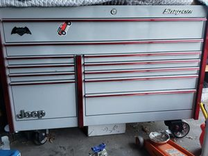 Snap-On Master Series Tool Box (KRL7022) Fire & Ice Edition (Arctic Silver with Red Trim) for Sale in Denver, CO