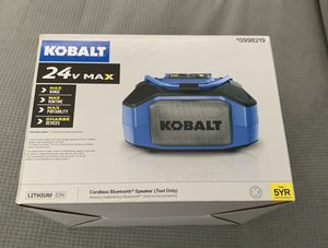 Kobalt Recharge Portable Bluetooth Speaker for Construction worker's and waterproof for Sale in Glendale, CA