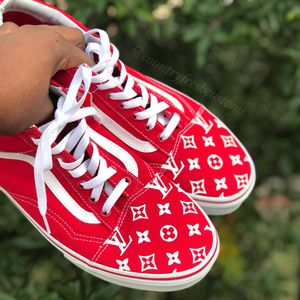 Custom Louis Vuitton Vans (Made to order) for Sale in Katy, TX