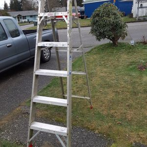 6 Foot Werner Ladder Delivery Is Avail Firm On My Price for Sale in Everett, WA