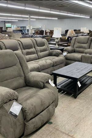 ✅BRAND NEW ✅SPECIAL] McCade Cobblestone Reclining Living Room Set for Sale in Jessup, MD