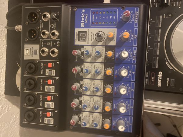 Mivic's 6 channel miver