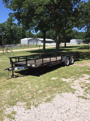 20' Trailer and new Winch for Sale in Oklahoma City, OK