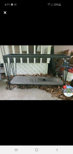 55 gallon metal stand for Sale in Waterloo, IL