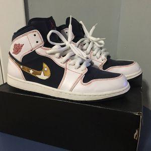 Nike Air Jordan 1 mid Retro custom USA for Sale in Cicero, IL
