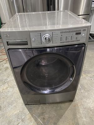 Kenmore elite washer energy star heavy duty steam works perfect clean 60 days warranty for Sale in Salem, MA