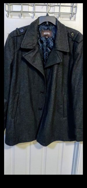 Men's 2xl Michael kors wool jacket for Sale in Thornton, CO