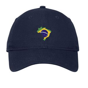 Brasil Embroidered Dad Cap Unstructured Cotton Unisex for Sale in Houston d5e908881f34