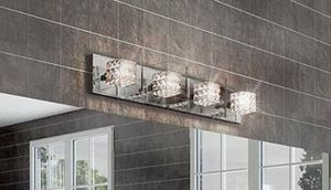 "Artika 31"" Crystal Cubes 4-Light Wall Modern Light Fixture. BRAND NEW! for Sale in Fort Lauderdale, FL"
