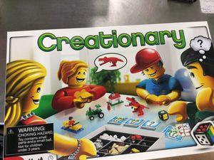 Creationary. Board Game - Legp for Sale in Matawan, NJ