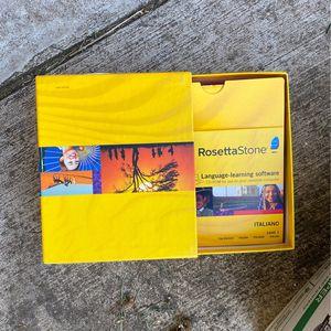 Rosetta Stone Italian for Sale in Nokesville, VA