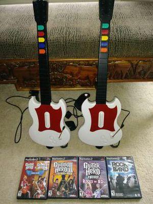 PS2 Guitar Hero Set [rare] for Sale in Concord, VA